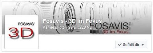 FOSAVIS 3D auf Facebook